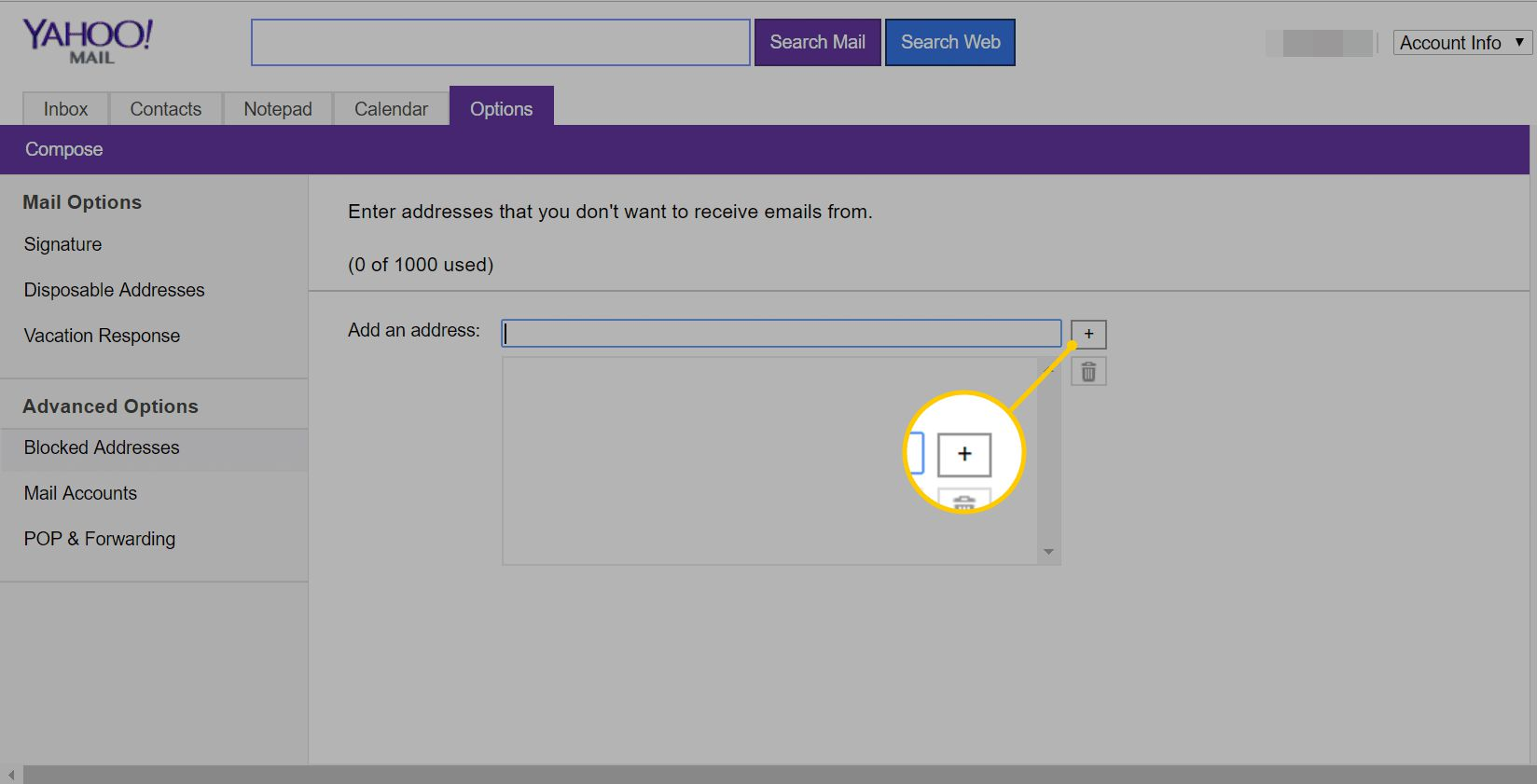 How to Block Unwanted Emails From Senders in Yahoo Mail