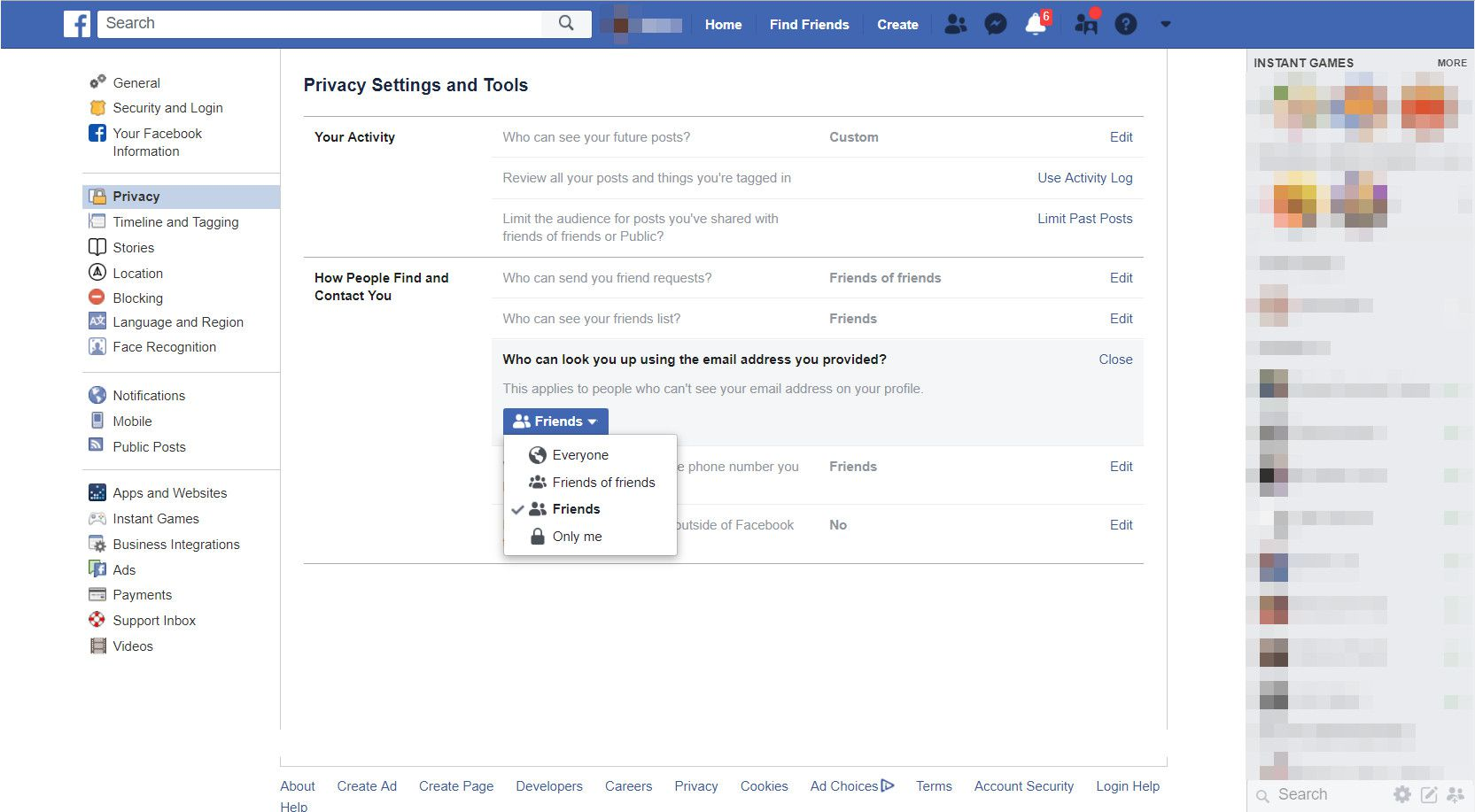 Don't Let Strangers See Your Facebook Profile