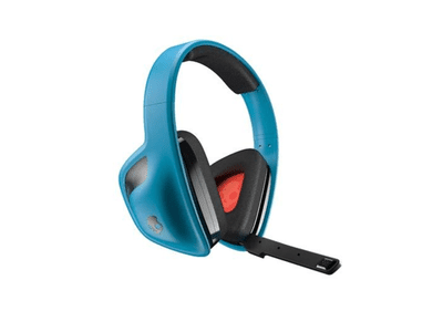 Skullcandy SLYR Gaming Headset, Blue (SMSLFY-012)