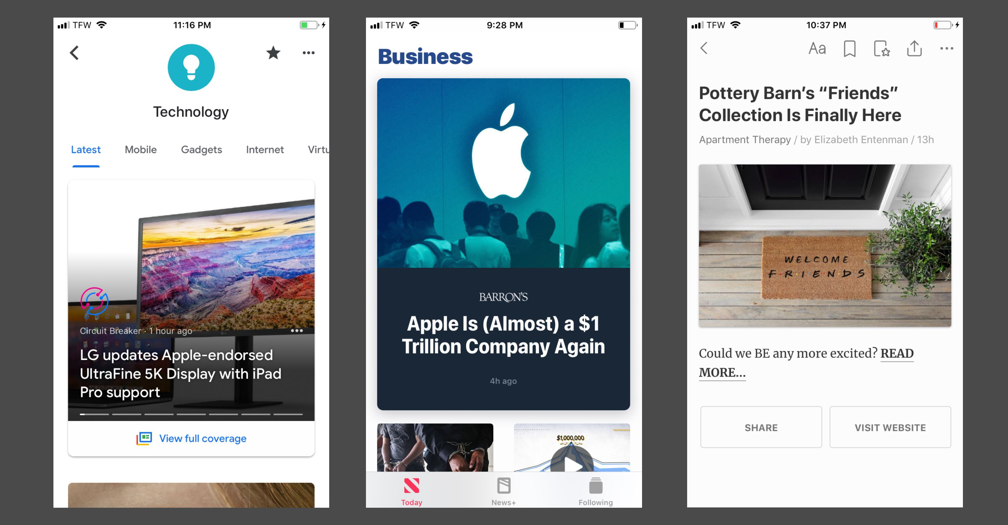 Extra! Extra! Read All About It With These News Apps for iPhone