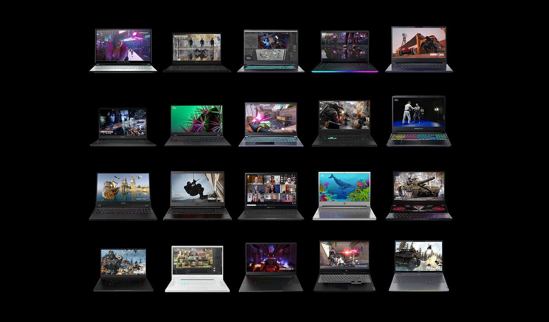 Promo image of Nvidia RTX laptops
