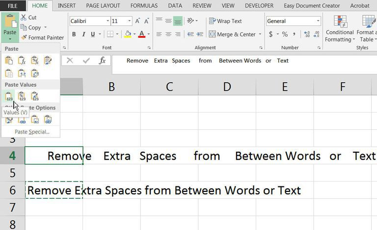 Learn How to Remove Extra Spaces From Excel Using TRIM