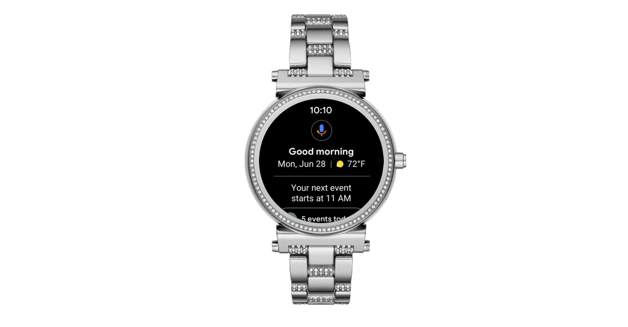 Google Assistant feed on Wear OS by Google