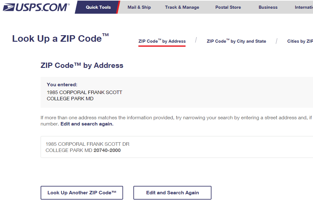 Find A Code >> How To Find Zip Codes And Area Codes Online