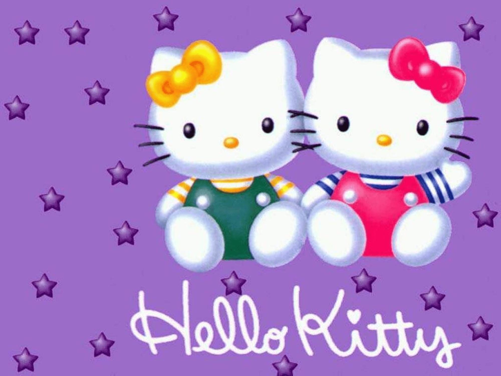Best Friends Hello Kitty Wallpaper