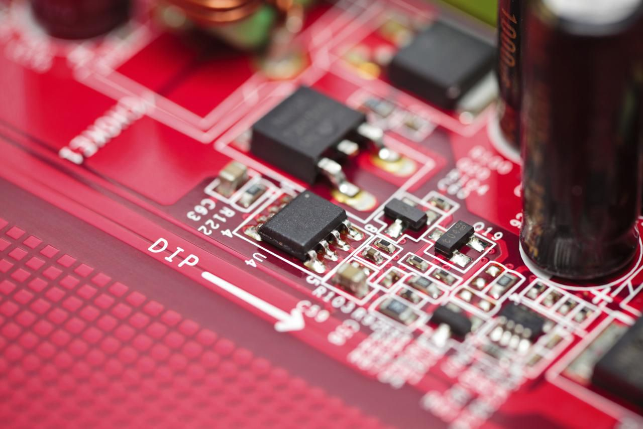 How Electronics Work Semiconductor Basics Macro Shot Of Integrated Circuit Many Uses In The