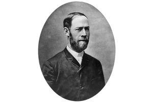 Portrait of Heinrich Hertz
