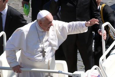 Pope Francis Delivers