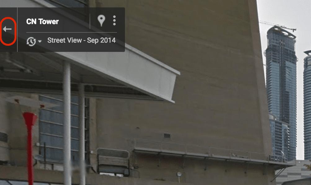 Google Street View: Detail.