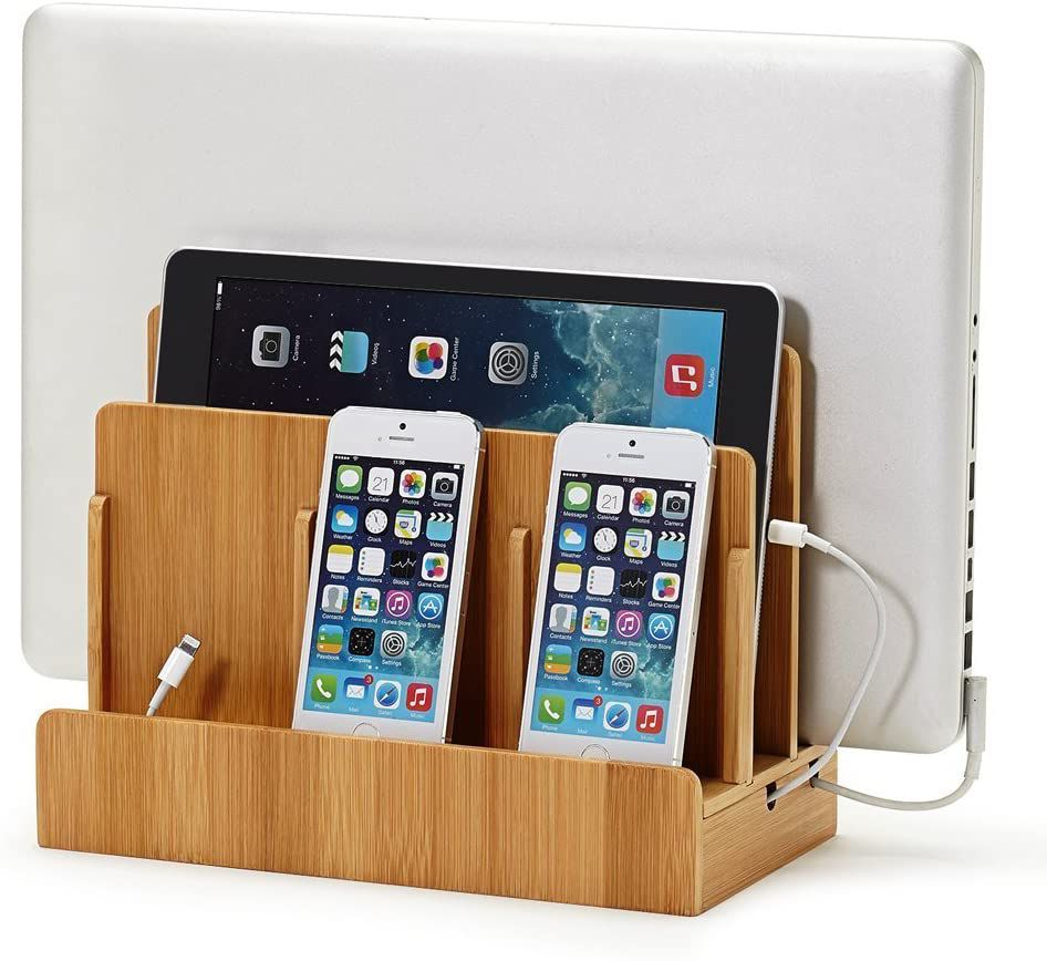 The Great Useful Stuss Multi-device charger will charge your devices.