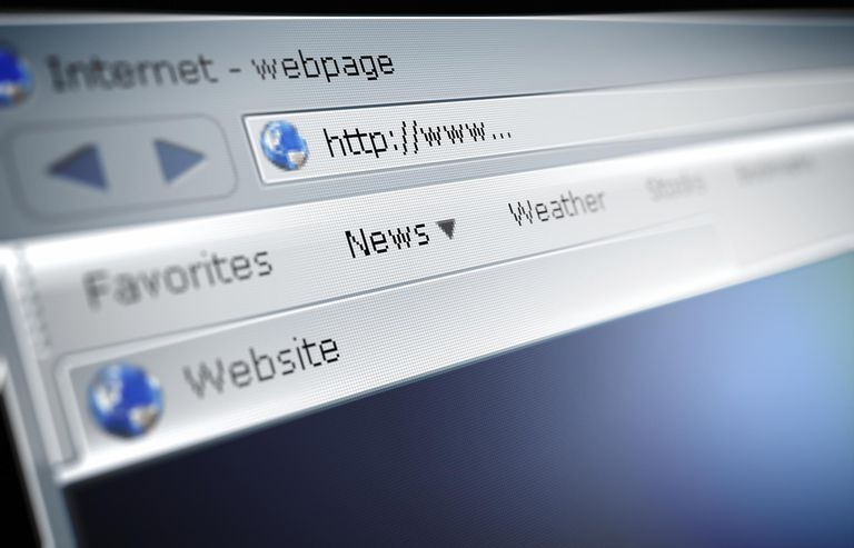 Search bar of internet browser with http://www...