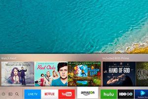 Samsung Smart TV – Apps Bar