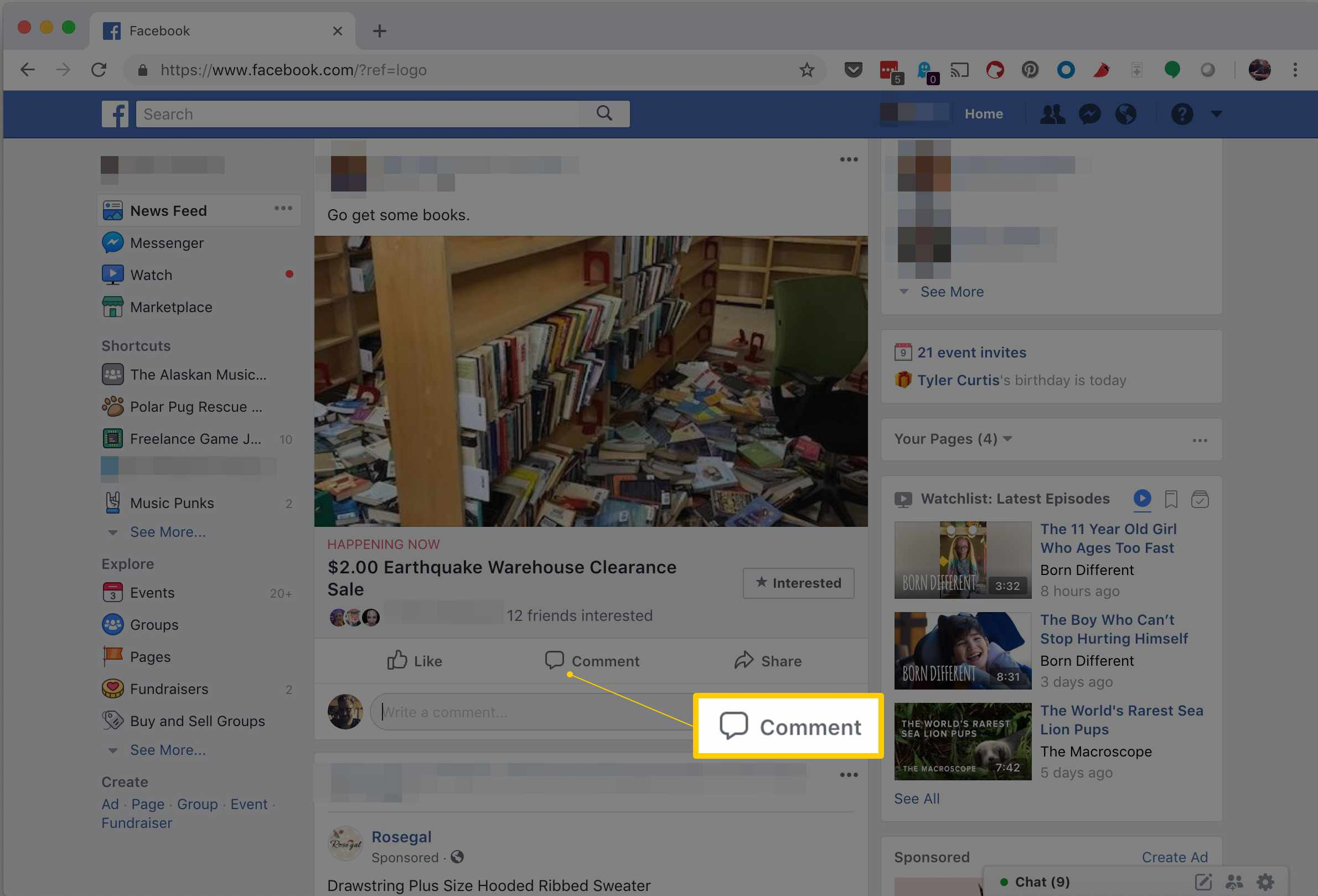 How to Add a Photo to a Facebook Comment