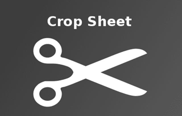 The Crop Sheet Logo
