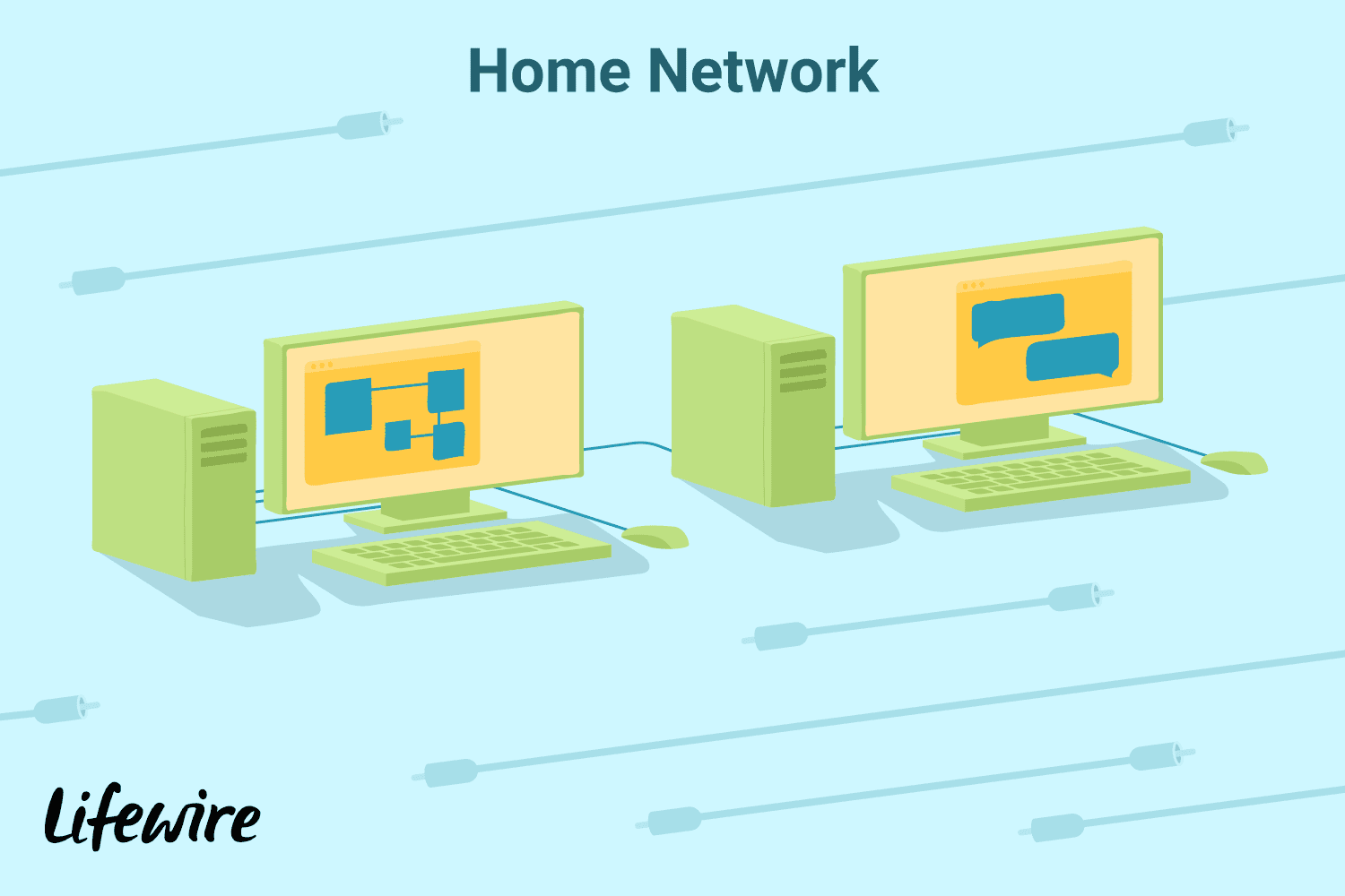 The Definition And Purpose Of A Computer Server Diagram For Kids Personal An Illustration Servers In Home Network