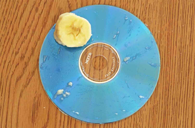 Fixing Scratched CD – Banana Method
