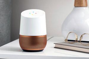 A Google Home smart speaker