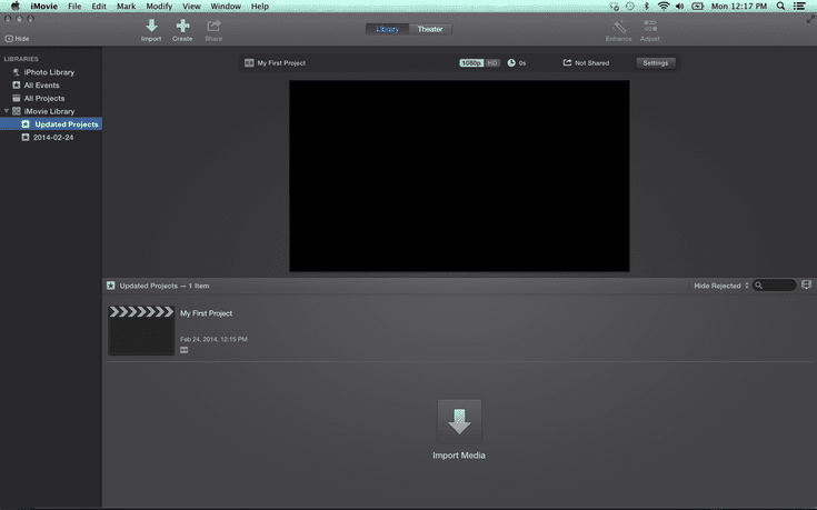 How to Split a Video Clip in iMovie
