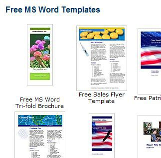brochures newsletters reports - Free Microsoft Word Templates