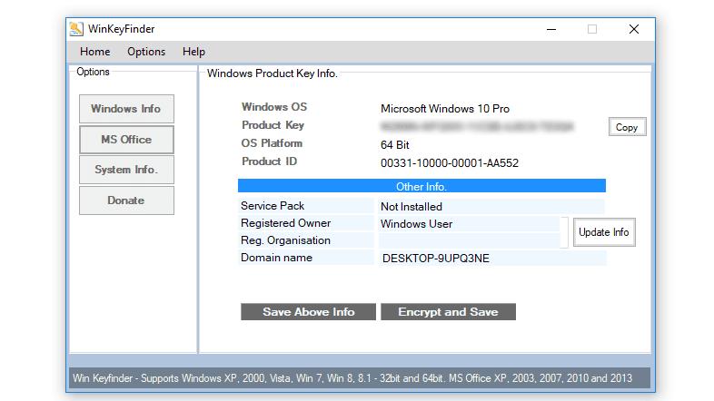 win keyfinder 1.73 final free download