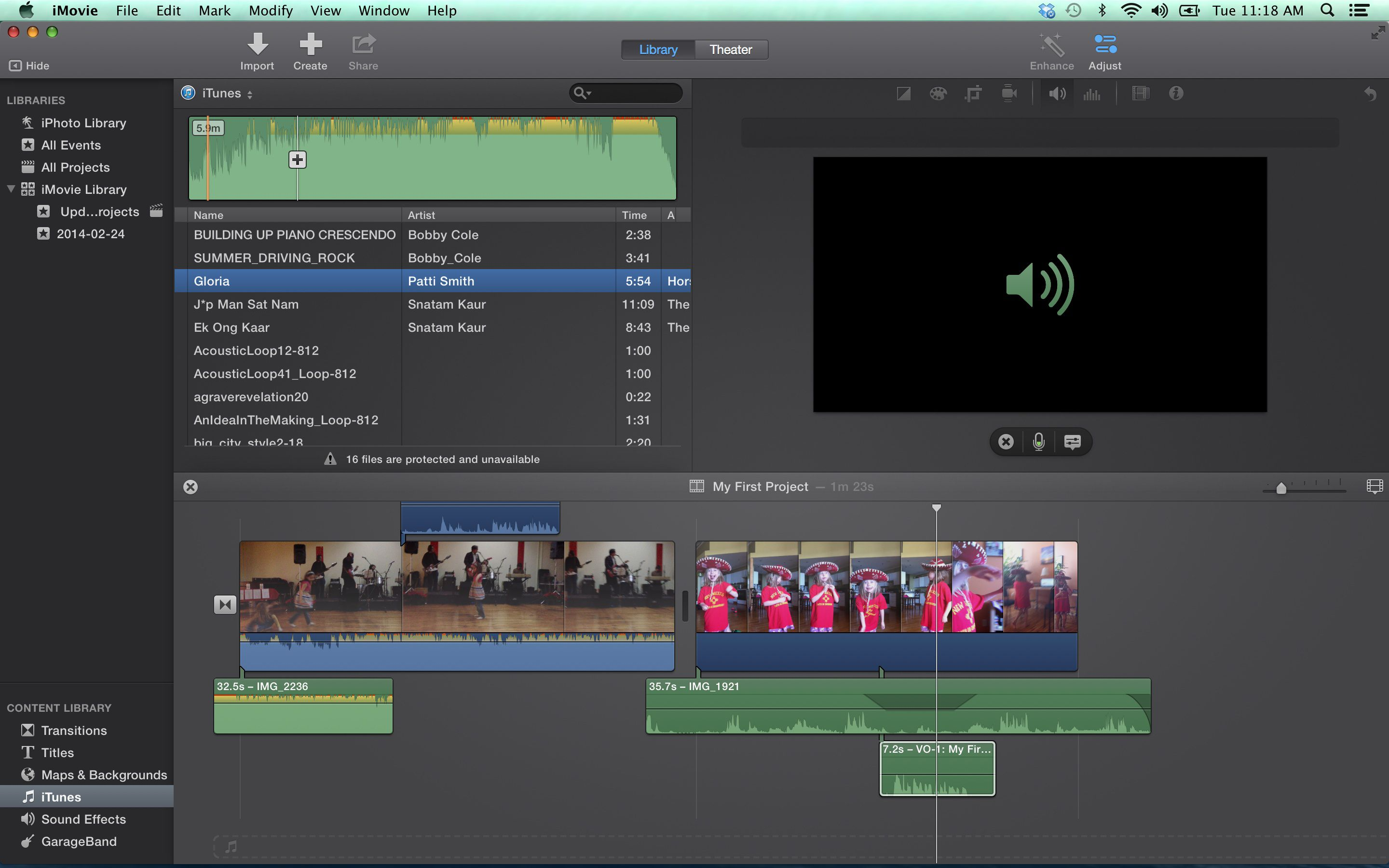 imovie audio editing tips