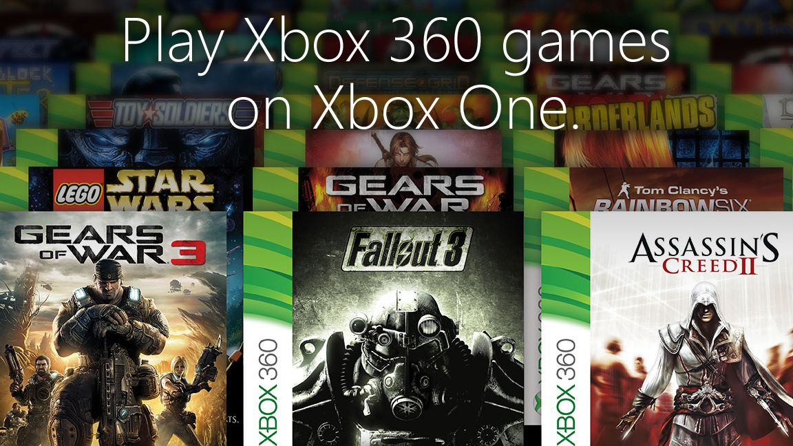 Xbox 360 Games You Can Play On Xbox One