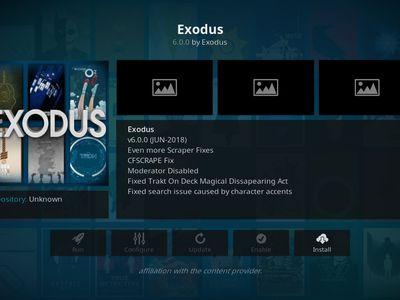Exodus Kodi Add-on