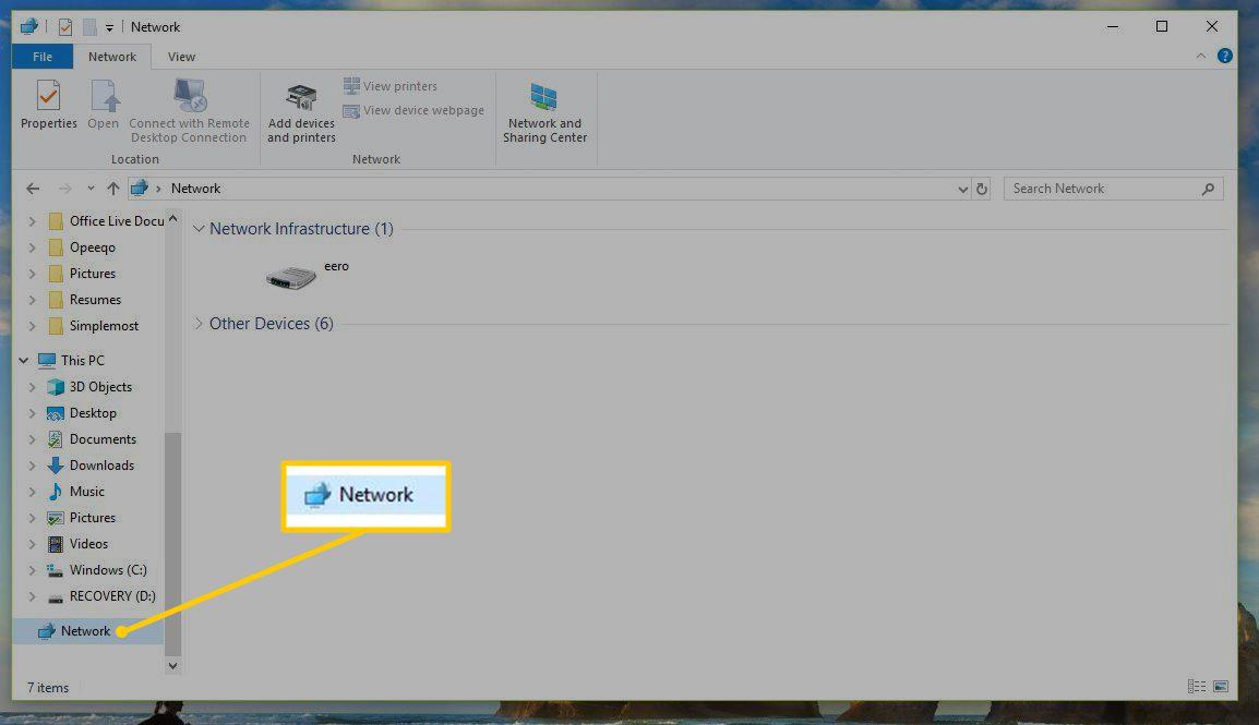 Finding Shared Windows Folders