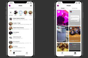 Facebook Messenger on iOS