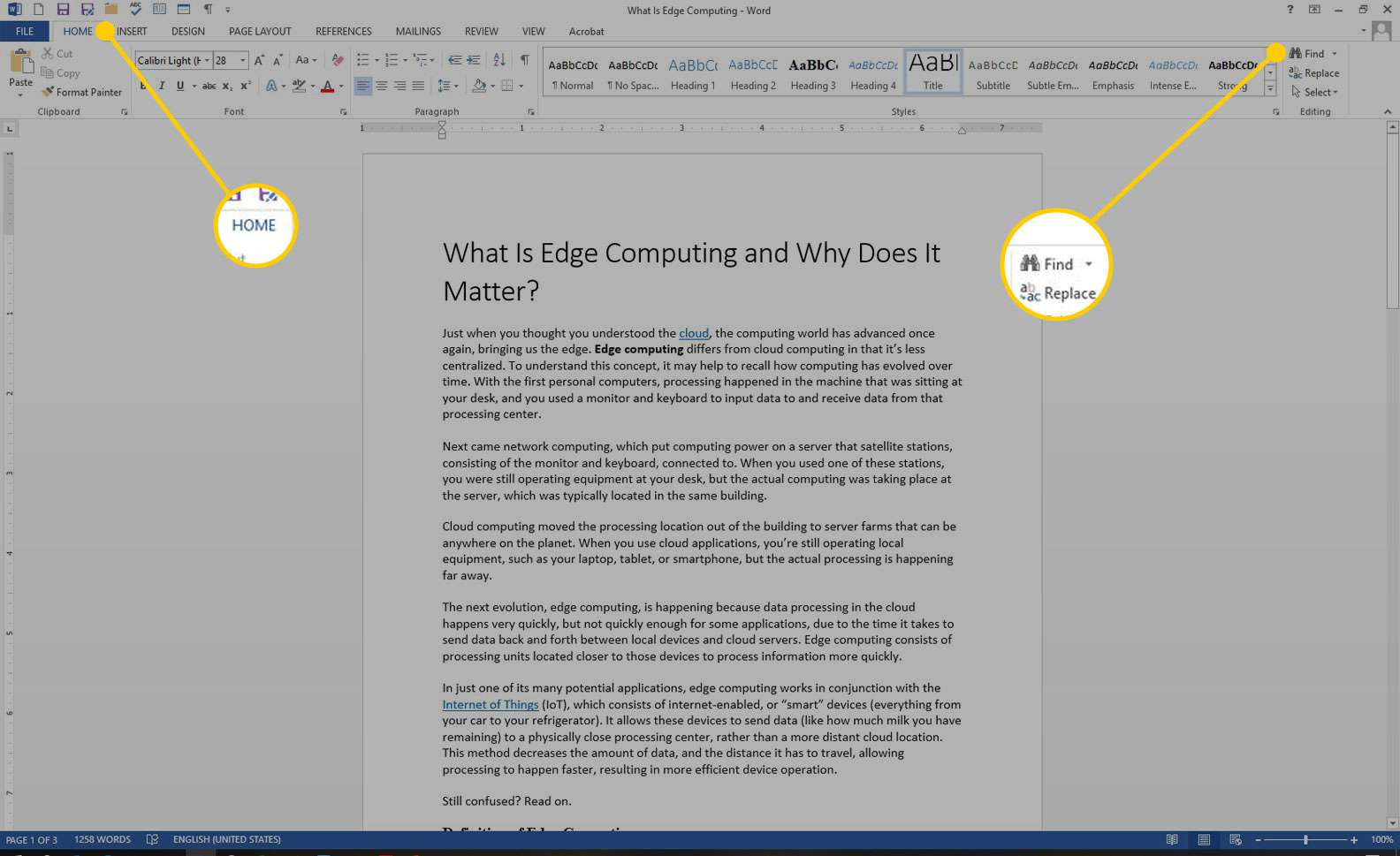 Find Tweets With Certain Words how to search for text in ms word