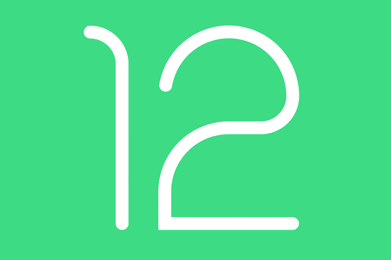 Anticipated Android 12 logo