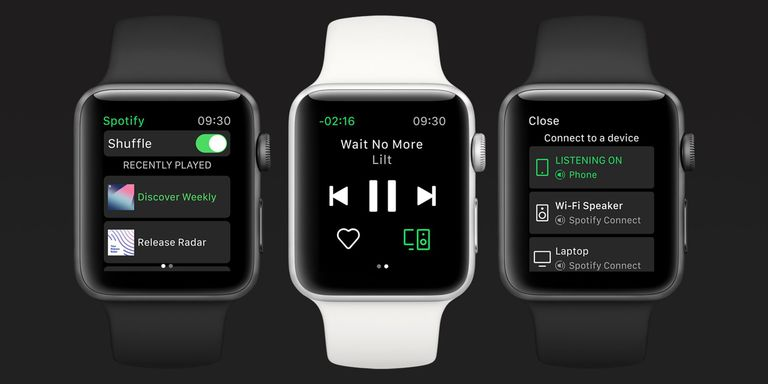 Spotify on Apple Watch