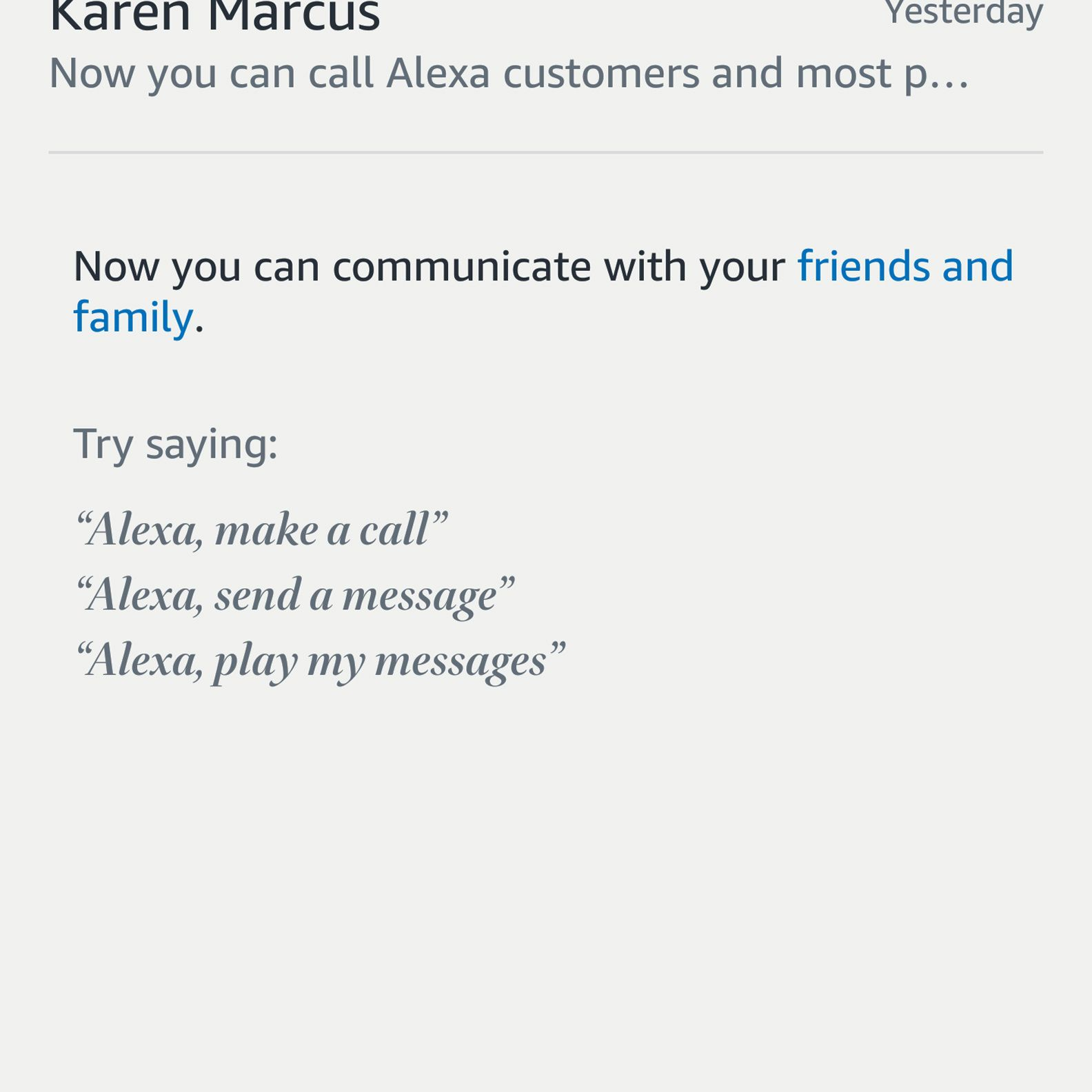 How to Add Contacts to Alexa