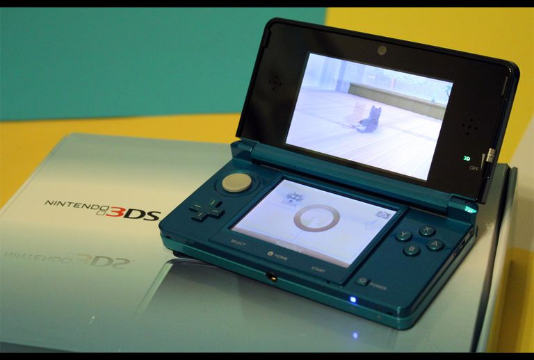 Picture of a Nintendo 3DS