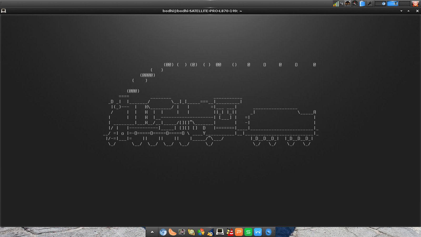 Linux Commands sl