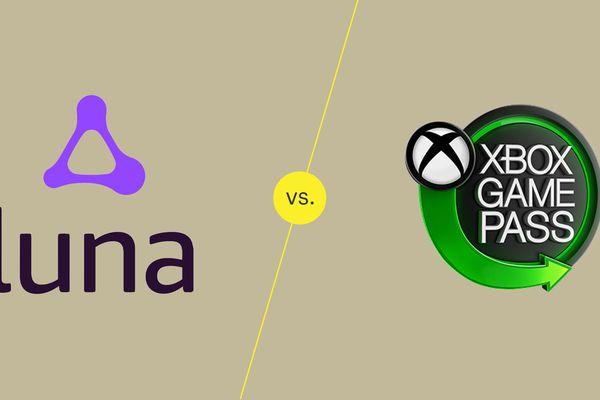 Amazon Luna and Xbox Game Pass logos