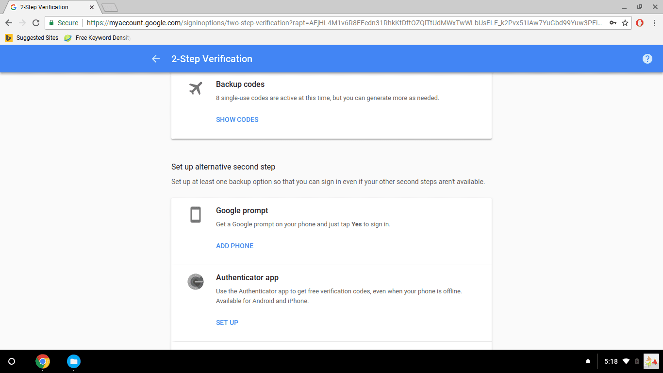 How to Change Your Chromebook Password