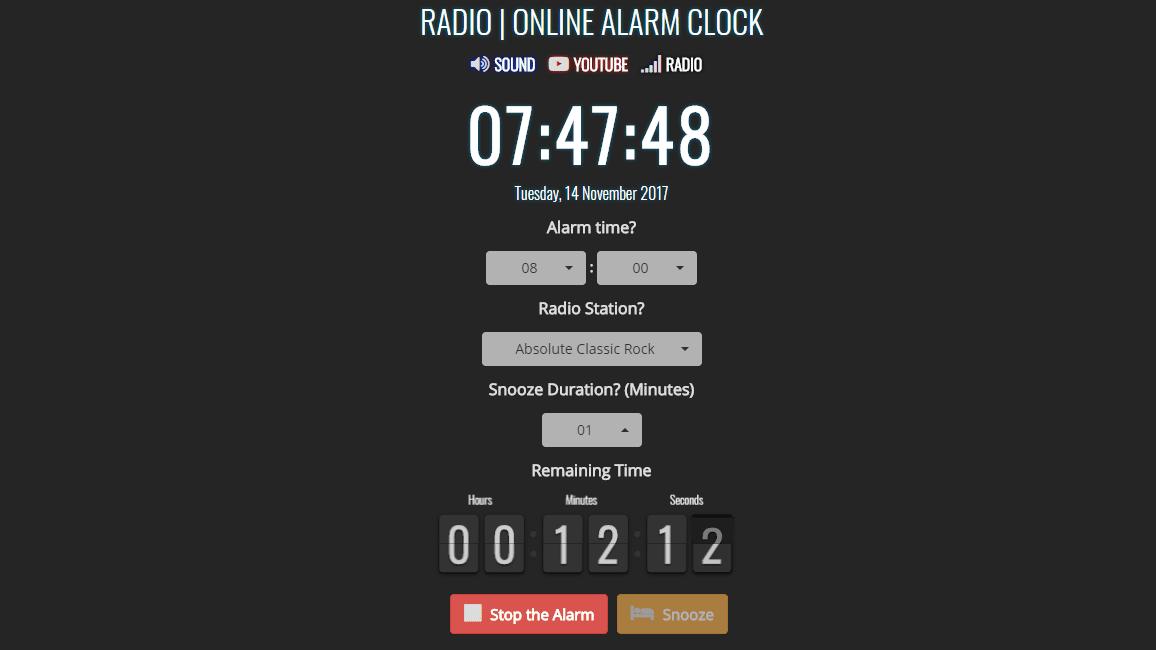 Top Free Online Alarm Clocks