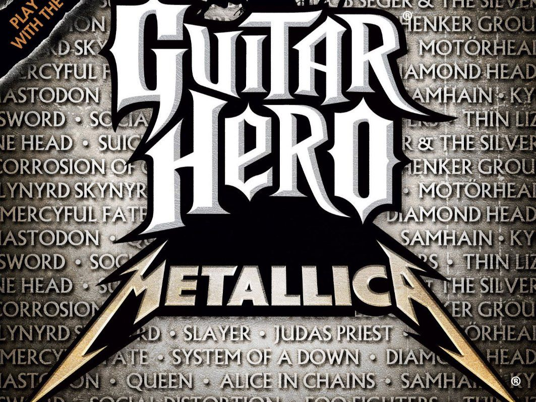 Guitar Hero Metallica Full Song List