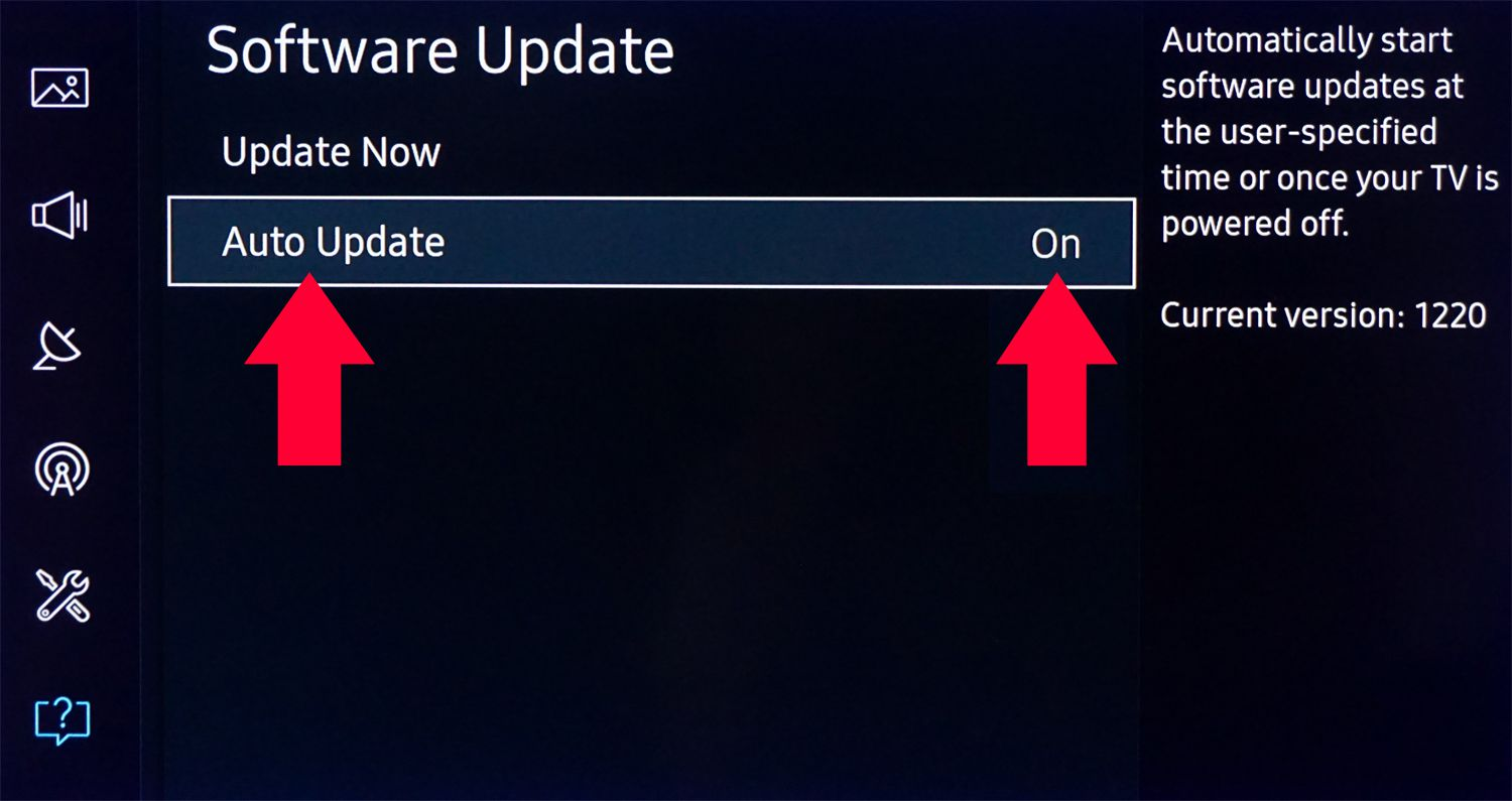 How to Update a Samsung Smart TV