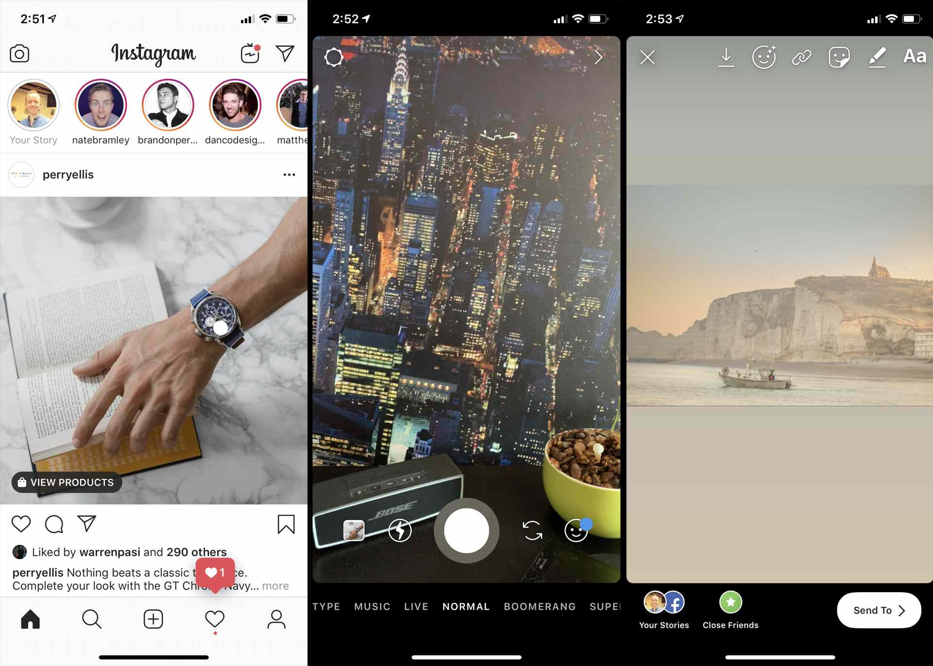 How to change instagram story background