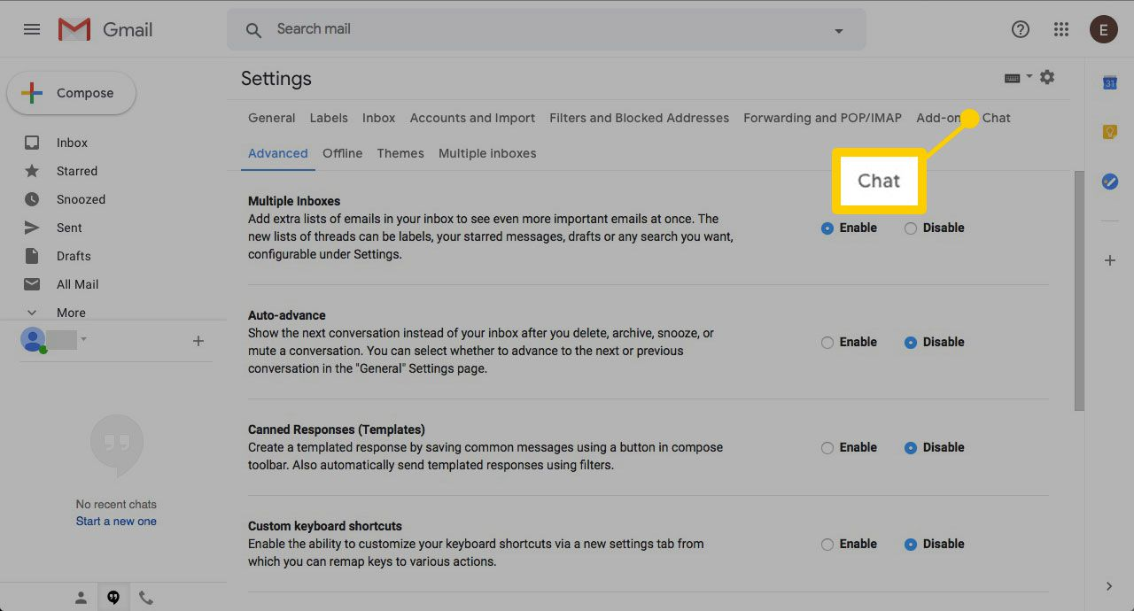 How to Prevent Gmail From Revealing Your Online Status