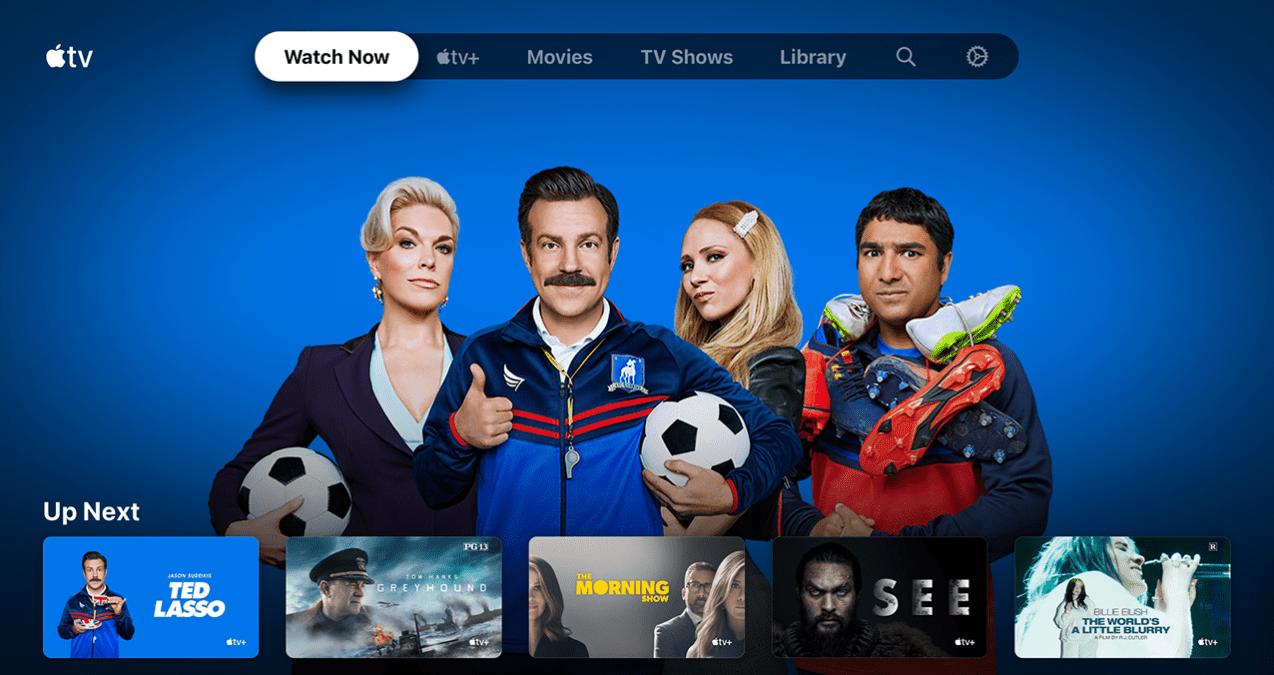 The Apple TV app on Nvidia Shield