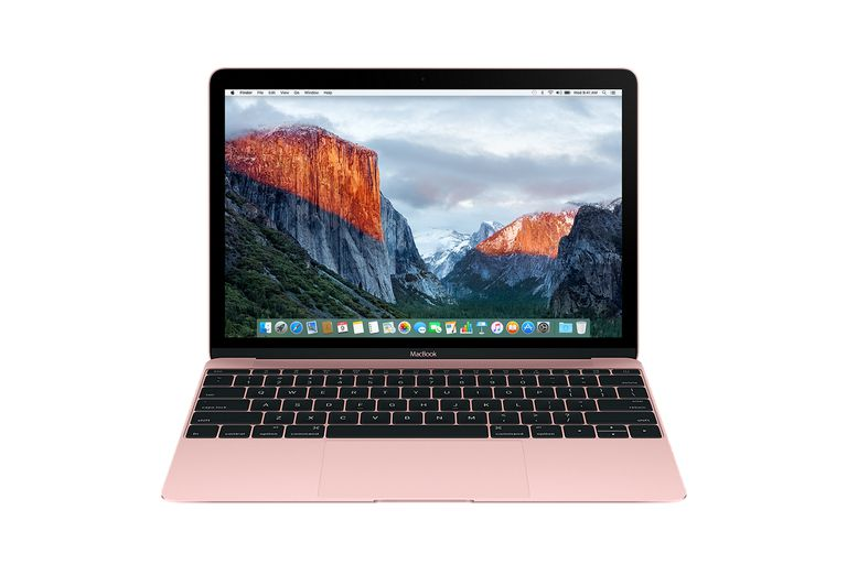 2016 12-inch MacBook in Rose Gold color