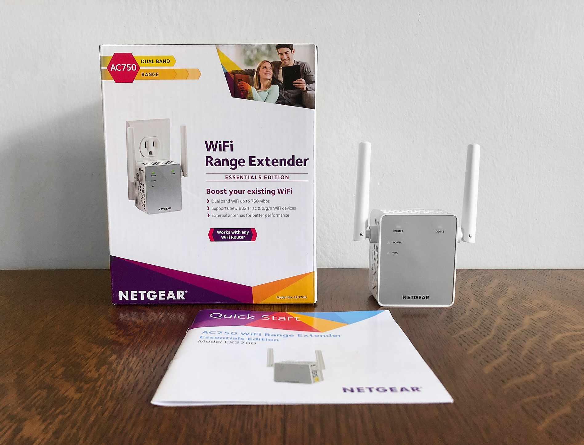Netgear EX3700 Wi-Fi Range Extender (AC750) Review