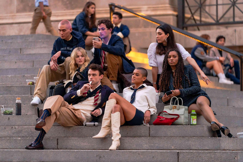 The cast of Gossip Girl 2021