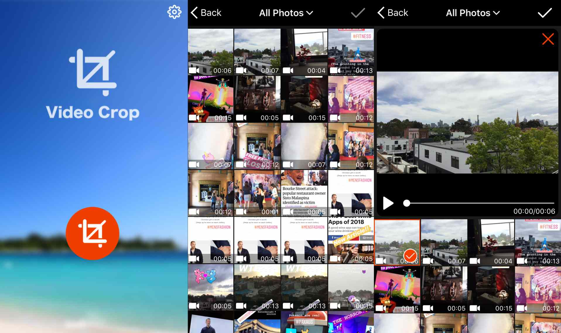 How to Crop Videos on iPhone