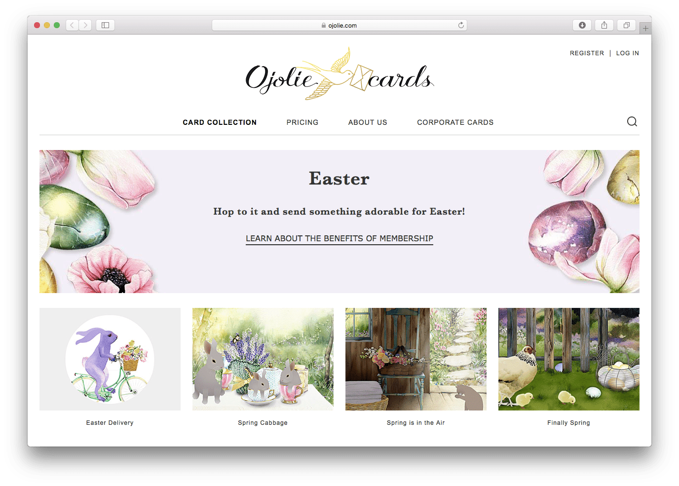 Top 25 favorite sites to send easter greetings ojolie easter cards m4hsunfo