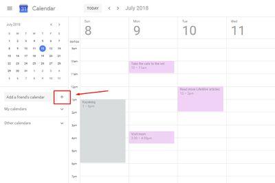 Create new Google Calendar.
