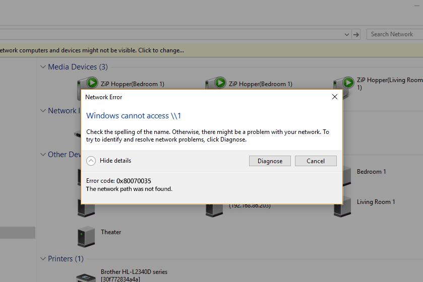 excel 2013 will not open files from network drives